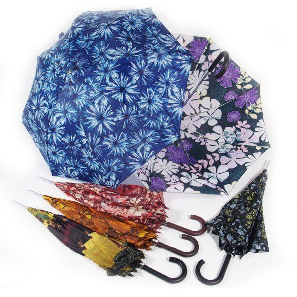 ombrello donna manico curvo