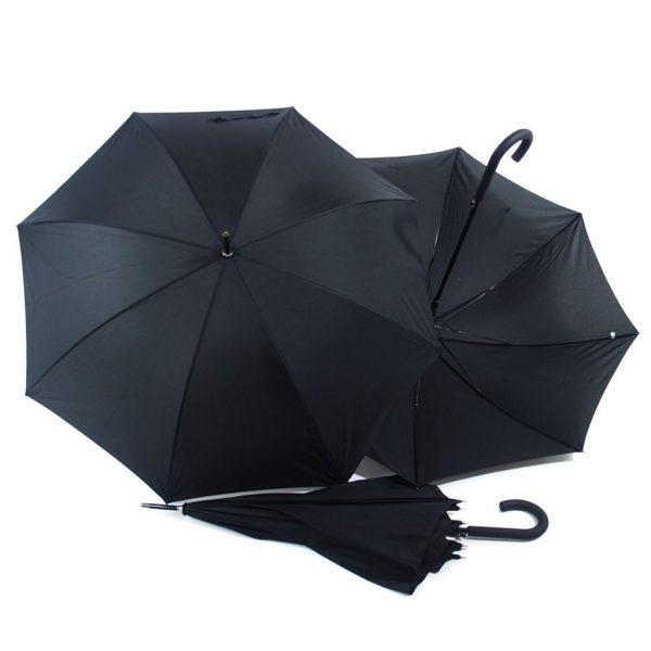ombrello nero 105 cm