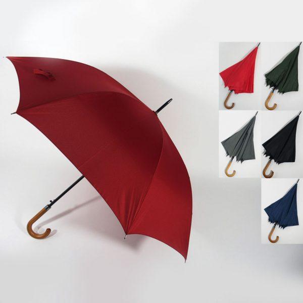 ombrello manico legno