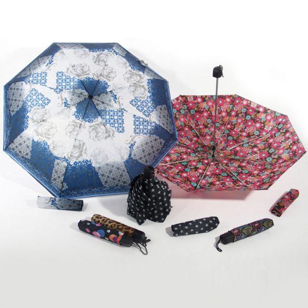ombrello da borsetta fantasia