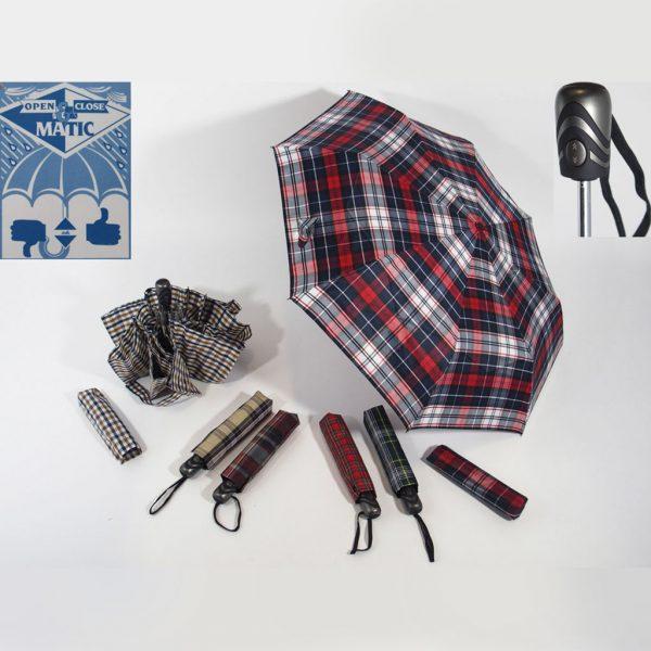 ombrello supermini scozzese