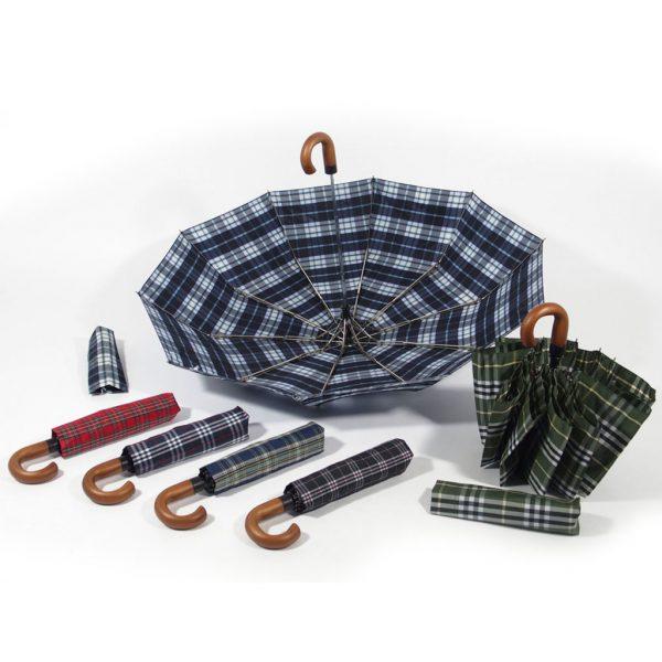 ombrello corto 10 stecche