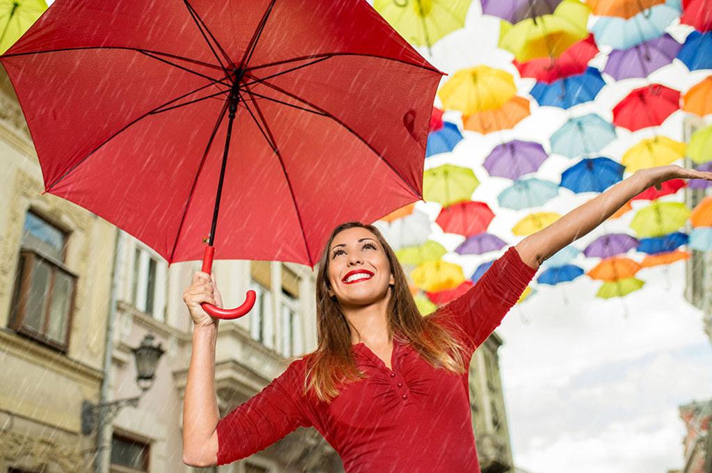 ombrello grande da donna